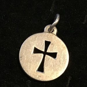 Retired James Avery cross charm